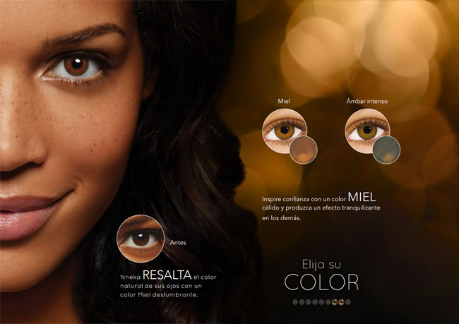 Disponibles en color MIEL